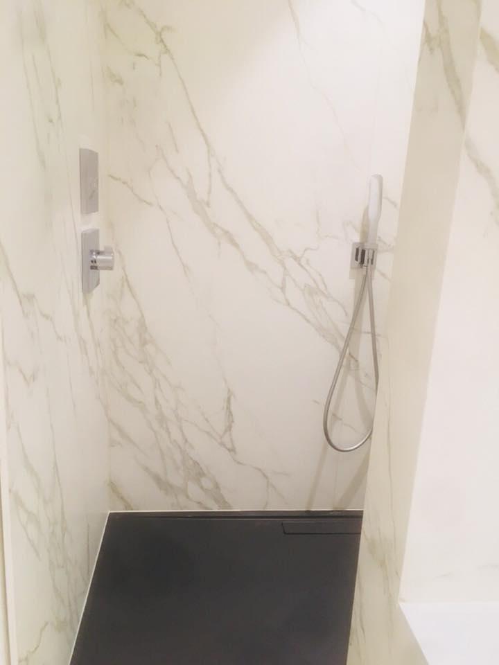 Nieuwbouw badkamer in samenwerking met totaalrenovatie Verstockt