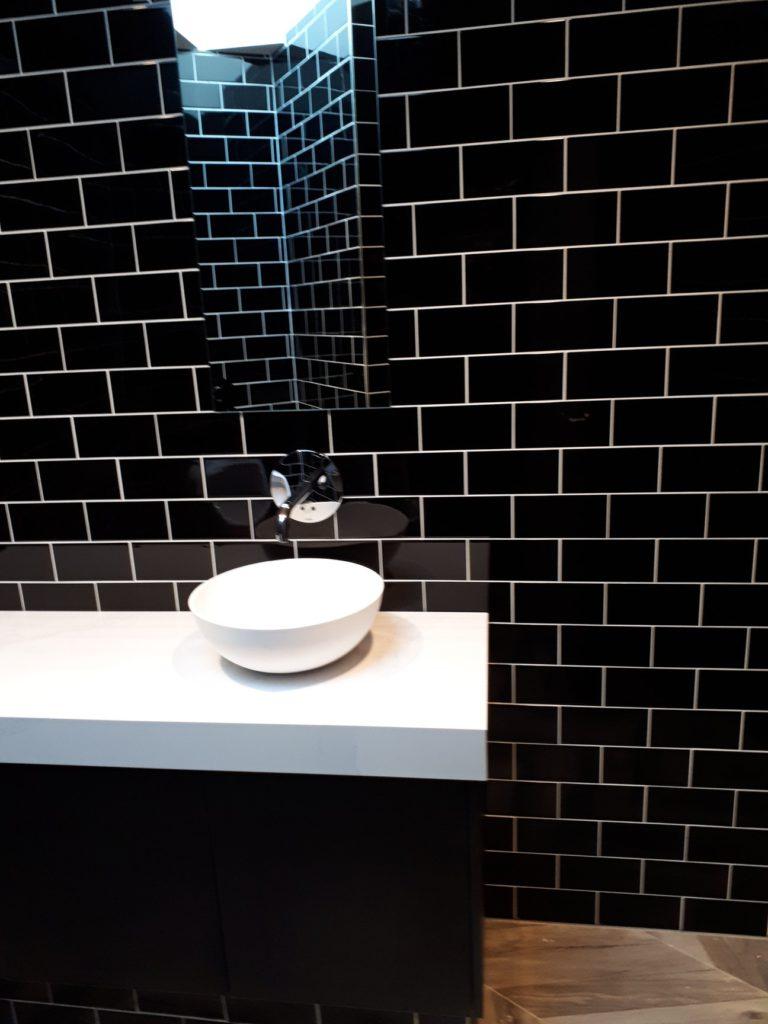 Verbouwing toiletten restaurant
